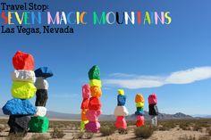 Seven Magic Mountains Las Vegas, Nevada