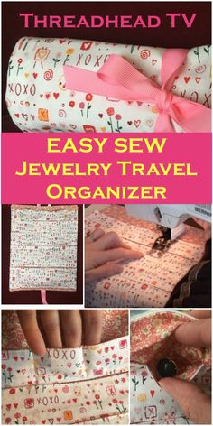 Get this project done in 1 hour! Great beginner sewist project. Adorable and useful.