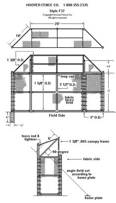 Softball Backstop   Detailed Design of Field Layout and ...