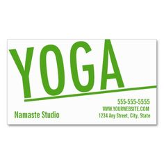 Yoga Business Card 10 Class Pass Business Card. This great business card design is available for customization. All text style, colors, sizes can be modified to fit your needs. Just click the image to learn more!
