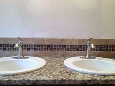 Building Beautiful Dream Homes, One Project At A Time. Bathroom Remodel.  New Sinks. Granite CountertopBacksplashBeautiful ...