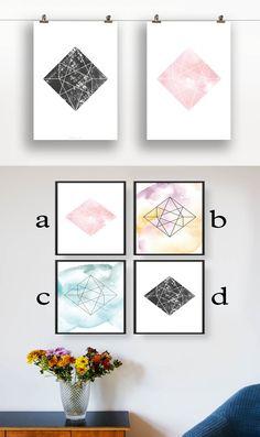 Ein Liebevoll illustriertes Designposter eignet sich immer gut zu verschenken. Sei es zum Geburtstag, zum Umzug oder einfach nur mal so. Damit wirst du sicher jeden erfreuen :)  Ein Designposter kostet 9,00 € und ist unbegrenzt verfügbar in unserem Shop auf dawanda unter http://de.dawanda.com/product/71339435-Wandbild-Designposter-Diamant