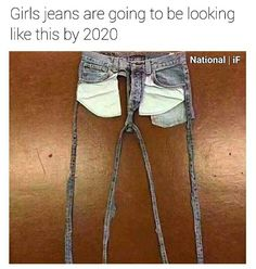 What the he'll are you talking about?? Look at those pockets!! They're huge! Girl jeans don't have pockets that size!