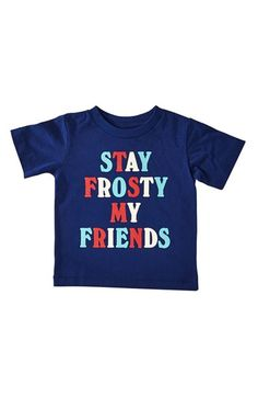 Peek 'Stay Frosty' Graphic T-Shirt (Baby Boys) available at #Nordstrom