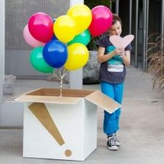 Make someone's birthday (or any day!) a little better with a DIY balloon surprise on their doorstep! I think this is the best idea for a fun suprise | http://giftsforyourbeloved.blogspot.com