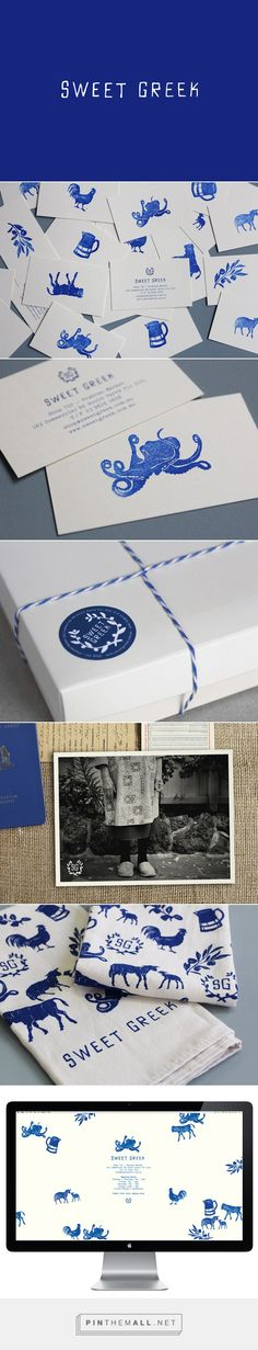 New Brand Identity for Sweet Greek by Studio Brave - BP&O - created via http://pinthemall.net