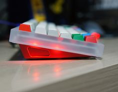 Acrylic case version of the Duck concept. Planck Keyboard, Keys, Gadgets, Gaming, Boards, Concept, Planks, Videogames, Key