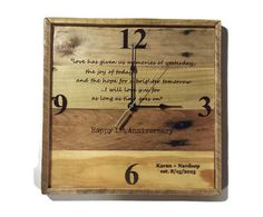 Anniversary Gift personalized anniversary gift gift for by RayMels