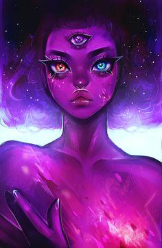 garnet's galaxy by varuvi