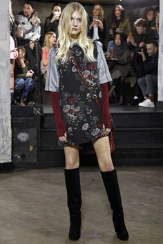 Look 5 sleeves from Ganni Copenhagen Fall 2016 Fashion Show