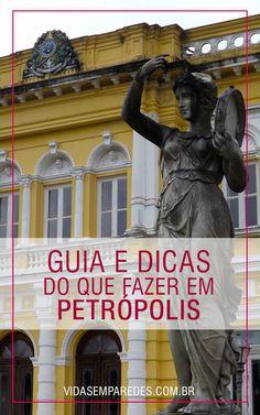 Conheça as atrações de Petrópolis e organize sua viagem para a cidade imperial, RJ.