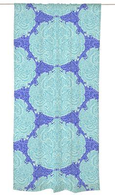 Vallila Interior VS120810-5 Vorhang Filigraani, 140 x 240 cm, blau / aqua: Amazon.de: Küche & Haushalt