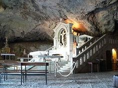 Sainte Baume - the cave  of Saint Mary Magdalen