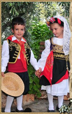 Kerkyra/Corfu Folk Costume, Costumes, Greek Traditional Dress, Corfu Island, Corfu Greece, We Are The World, Beautiful Islands, Most Beautiful, Europe