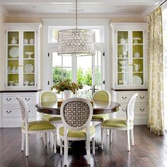 Dining Rooms Absolutely Love A Round Table Great For Conversation And There Is Always Room To Squeeze In One More Guest