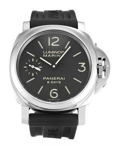 Pre-owned Limited Edition Panerai Luminor Marina Gents Manual watch. 44 mm Steel case, with Black Quarter Arabic dial. Luminor Watches, Panerai Luminor Marina, Panerai Radiomir, Sport Watches, Cool Watches, Watches For Men, Men's Watches, Panerai Luminor Submersible, Second Hand Watches