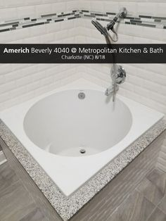 Featuring Our Japanese Soaking Drop In, The Beverly, At Metropolitan Kitchen  And Bath
