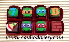 decoração de festa tema tartarugas nija - Pesquisa Google