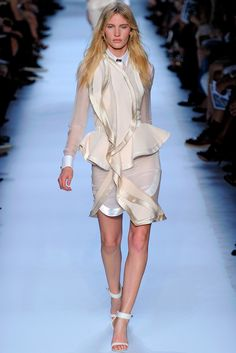 Givenchy | Spring 2012 Ready-to-Wear Collection | Emily Baker Modeling | Style.com