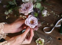 DIY Tutorial by Amy Merrick…How to Make a Flower Corsage