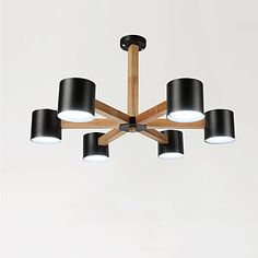 Chandelier , Vintage Painting Feature for LED Metal Living Room Bedroom Dining Room Kitchen Study Room/Office 5803120 2017 – $164.49