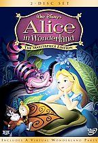 Alice in Wonderland, 1951, the original Disney animated version... now, remastered for DVD and Blu-ray