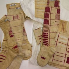 Wonderful mending on socks