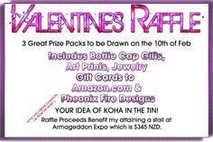 Valentines raffle - are you with me? #Gigatowndunedin
