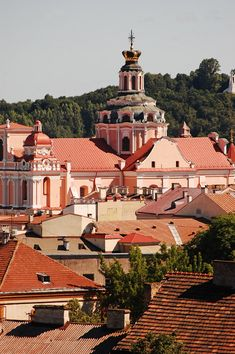 Magic roofs of Vilnius Old City with the King's Palace on the background, Lithuania Copyright: Kanstantsin Lashkevich