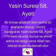 Görüntünün olası içeriği: yazı Allah Islam, Baby Education, Cool Words, Best Quotes, Affirmations, Prayers, Faith, Sayings, My Love