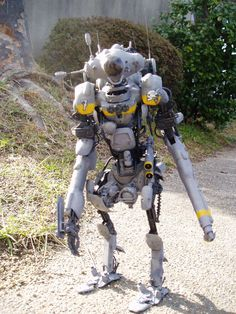 Awesome Robo!: Ketagino's Awesome Maschinen Krieger Kitbash
