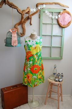 The vintage 1960s Lilly Pulitzer dress I recently found on etsy.