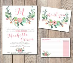 Pin and save: Pin this link and use code THANKS4PINNING to save 10% on your purchase!  https://www.etsy.com/listing/225983645/bridal-shower-pack-instant-download?ref=shop_home_active_21