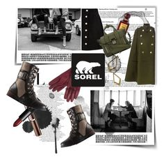 THE MAJOR SOREL: Contest Entry by gizaboudib on Polyvore featuring polyvore, fashion, style, Sacai Luck, AG Adriano Goldschmied, SOREL, 3.1 Phillip Lim, BaubleBar, John Lewis, NARS Cosmetics, Benefit, Tom Ford and sorelstyle