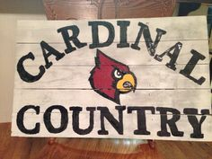 Corbett Cardinals Pallet Sign!!!