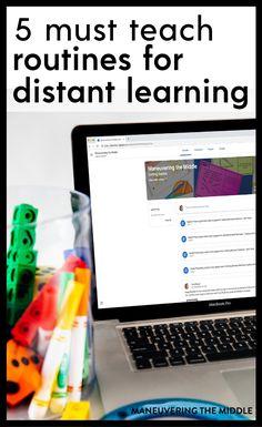 Teaching Strategies, Teaching Tips, Learning Resources, Teaching Procedures, Classroom Procedures, Online Classroom, School Classroom, Google Classroom, Classroom Decor