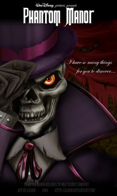 Phantom manor artwork