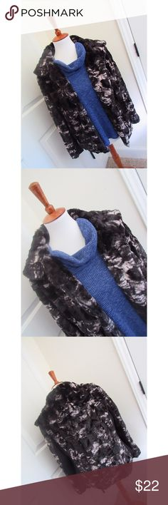 Nordstrom black and white fur coat - Size L. Brand new condition, worn one time for 2 hours.  - I don't trade or sell outside of posh. - I ship every single day!  - All items come from a smoke free home!  - If you have anymore questions just let me know and I would be happy to help! 🙂 Nordstrom Jackets & Coats