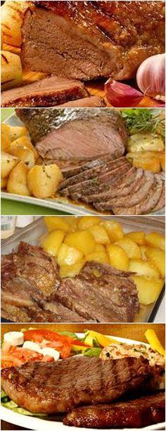 PICANHA DE FORNO, Á FAMILIA VAI ADORAR É MUITO SABOROSA!!! VEJA AQUI>>>Misture todos os ingredientes de tempero inclusive o azeite na picanha. #receita#carne#frango#peixe