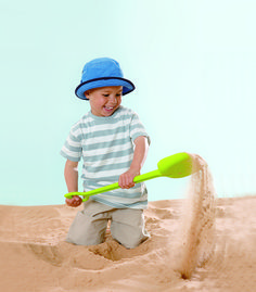 Sand Shovel Green From Hape from The Wooden Toybox