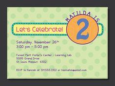 Free FREE Template 2 Year Old Birthday Invitation Wording