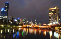 Dazzling city skylines.  Melbourne, Victoria, Australia MSN Travel: Plan a trip to Melbourne, Australia