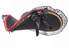 buccaneer Lady pirate hat