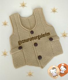 Baby Knitting, Diy And Crafts, Boys, Sweaters, Fashion, Toddler Girls, Sweater Vests, Tejidos, Layette
