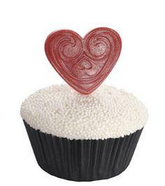 #Cupcake #heart -- #Valentine's Day?