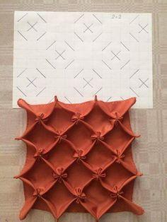 How To Do Canadian Smocking Matrix Design   Art U0026 Craft Ideas