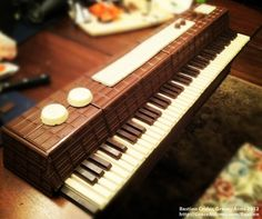 Bastion's Chocolate Piano