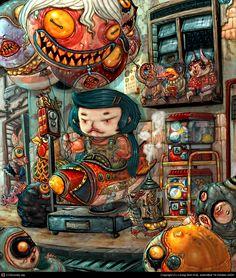 PopCorn by Leong Wan Kok | 2D | CGSociety