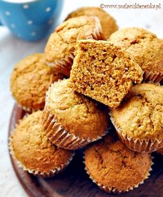 Carrot Muffins, Carrots, Biscuits, Recipies, Cupcakes, Sweets, Baking, Breakfast, Food