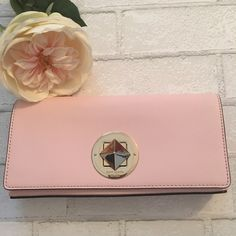 Kate Spade Clutch in Blush Pink with Gold Hardware ♠️❤️Kate Spade Keira Clutch in ballet slip NWT♠️❤️ kate spade Bags Clutches & Wristlets